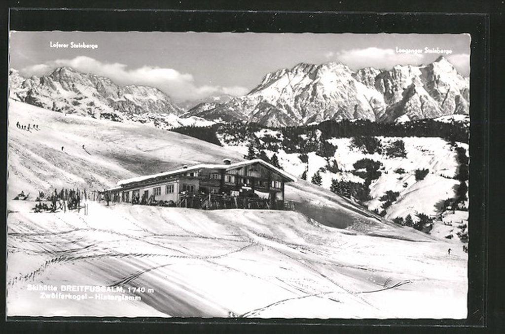 Die Skihütte Breitfußalm